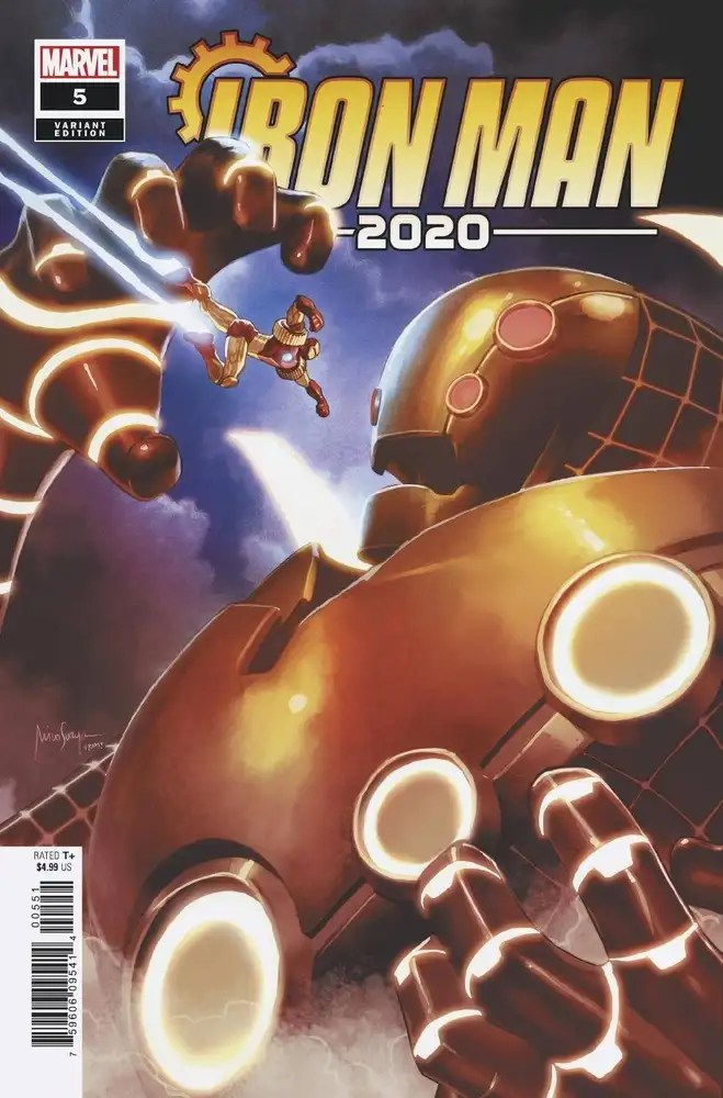 MAR200978 ComicList: Marvel Comics New Releases for 07/29/2020