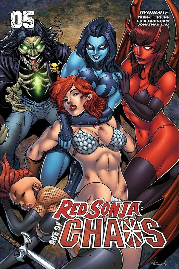 MAR201168 ComicList: Dynamite Entertainment New Releases for 07/15/2020