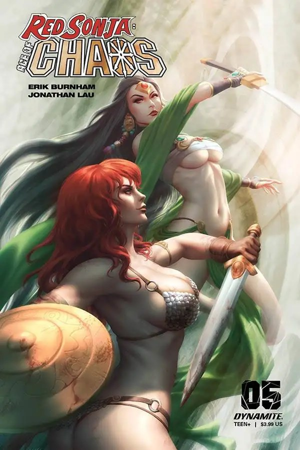 MAR201169 ComicList: Dynamite Entertainment New Releases for 07/15/2020