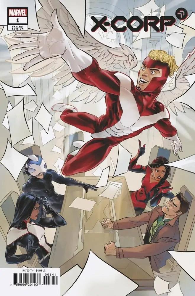 MAR210547 ComicList: Marvel Comics New Releases for 05/12/2021
