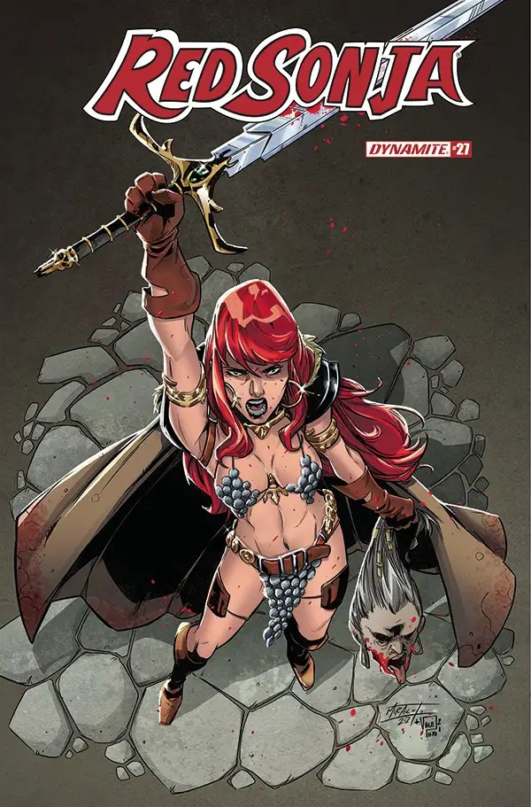 MAR210793 ComicList: Dynamite Entertainment New Releases for 05/26/2021