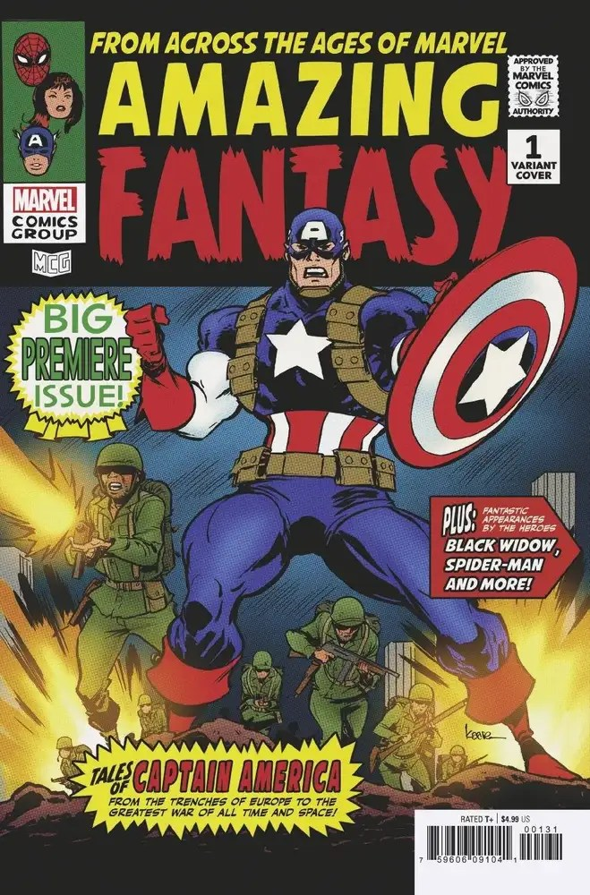 MAY210480 ComicList: Marvel Comics New Releases for 07/28/2021