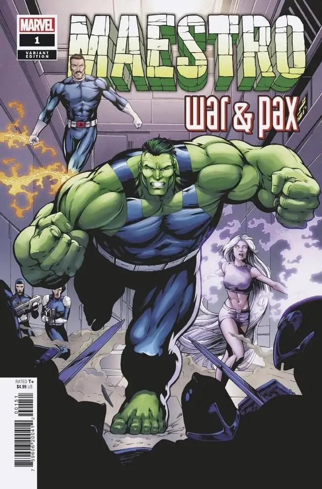 NOV200507 ComicList: Marvel Comics New Releases for 01/20/2021