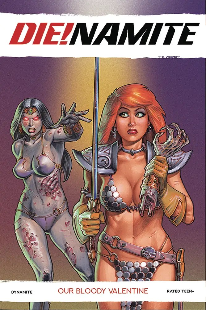 NOV200732 ComicList: Dynamite Entertainment New Releases for 02/03/2021