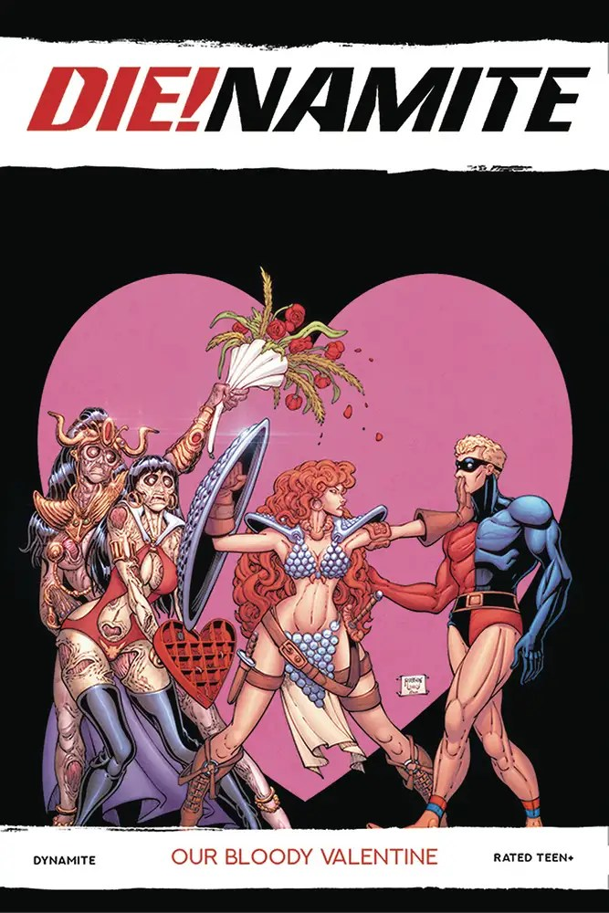 NOV200733 ComicList: Dynamite Entertainment New Releases for 02/03/2021