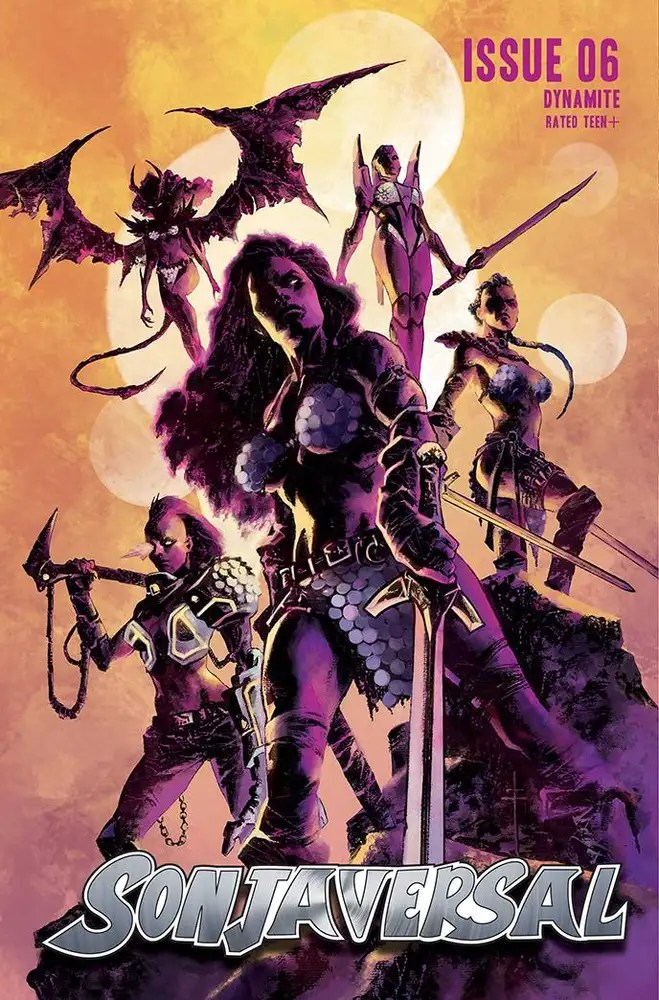 stl201876 ComicList: Dynamite Entertainment New Releases for 07/28/2021