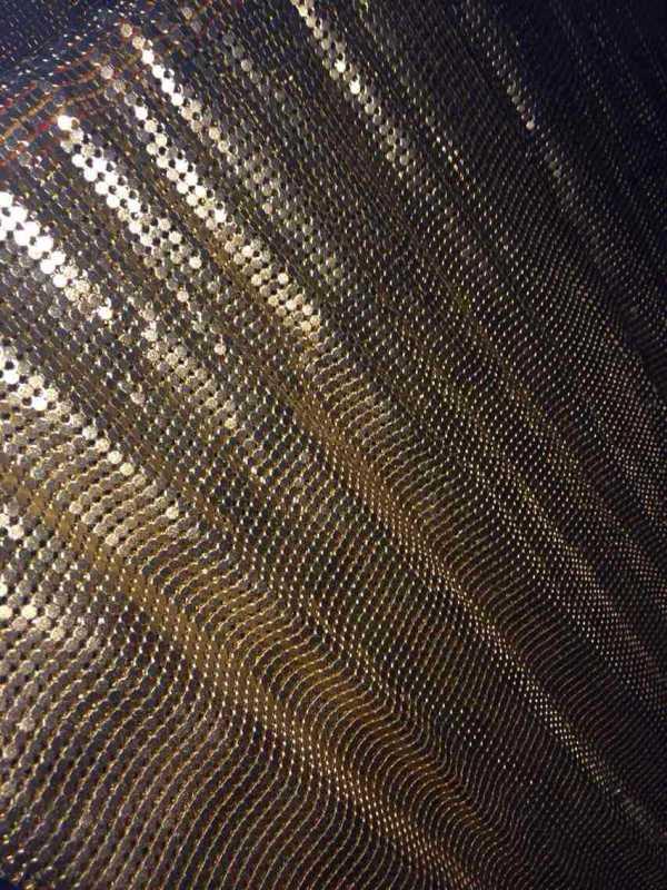 Metal Fabric Curtain Ball Chain CurtainLink Chain