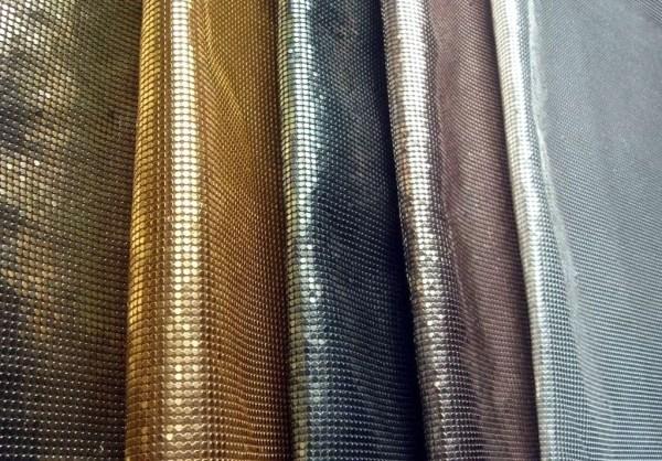 Metallic Cloth Ball Chain CurtainLink Chain Curtain