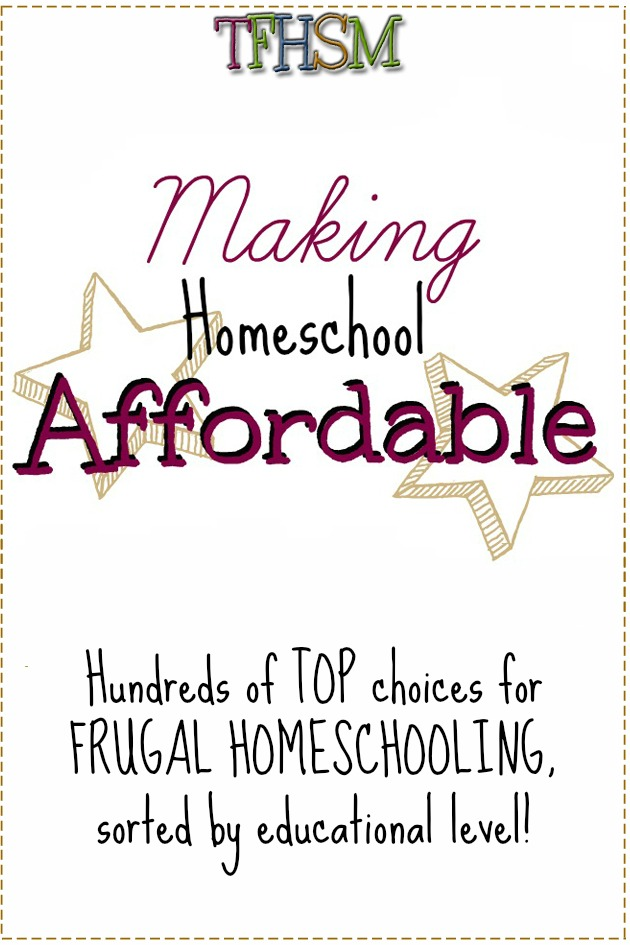 The Frugal Homeschooling Mom Affording the Homeschool Life P