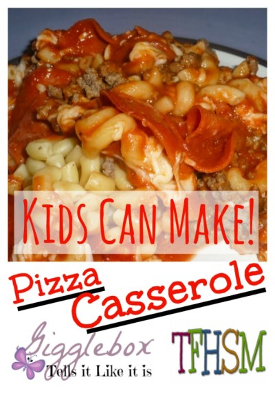 frugal homeschool family recipes kids can make pizza casserole