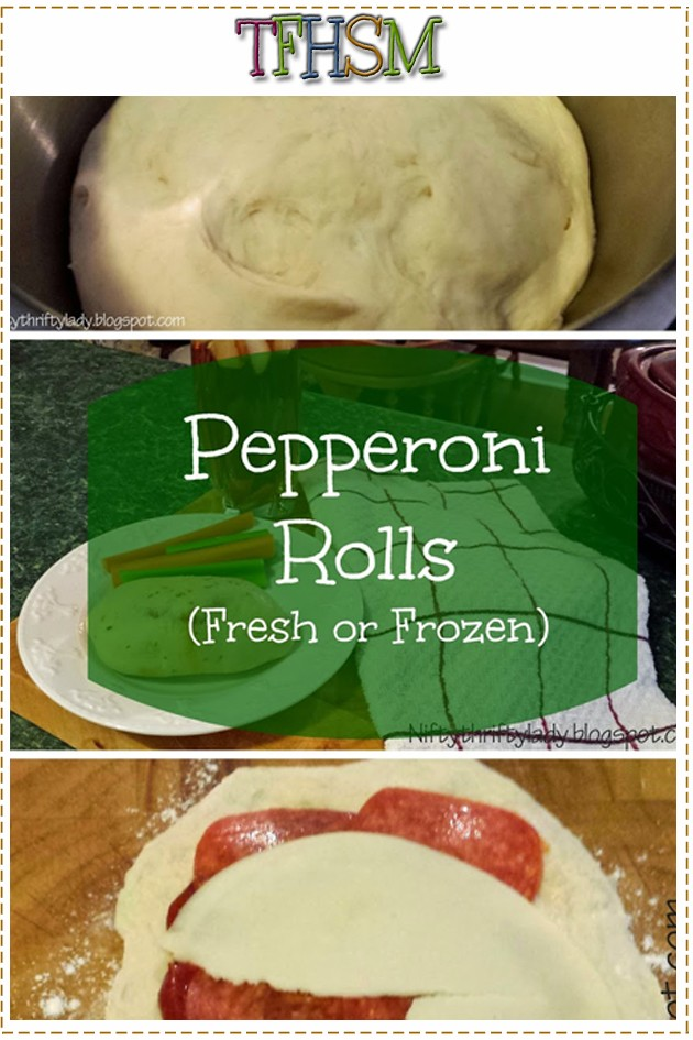 DIY pepperoni pizza hot pockets