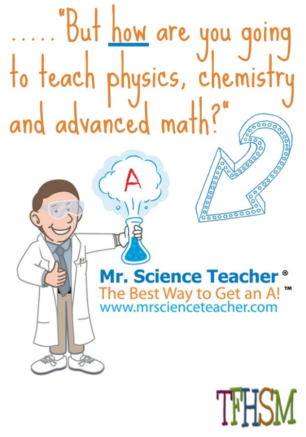 how to teach high school physics chemistry math mr science teacher review frugal homeschooling mom
