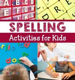 Homeschool Spelling Printables and Activities – Frugal Homeschooling [ 1080 x 1080 Pixel ]