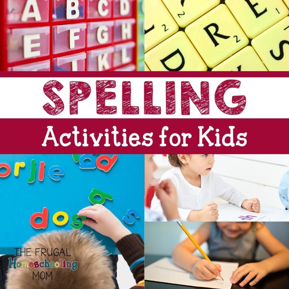 medium resolution of Homeschool Spelling Printables and Activities – Frugal Homeschooling