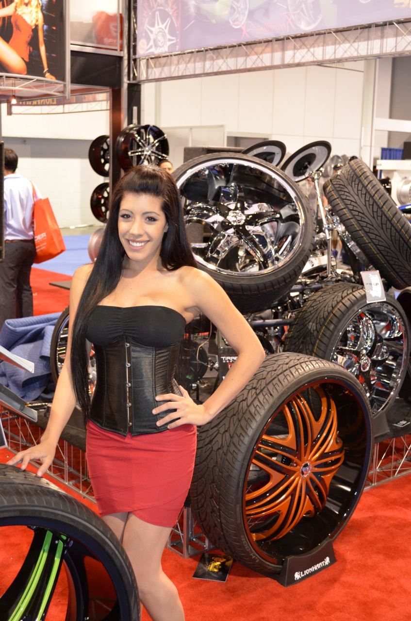 The Sexy Girls of SEMA 2012  TFLcar exclusive