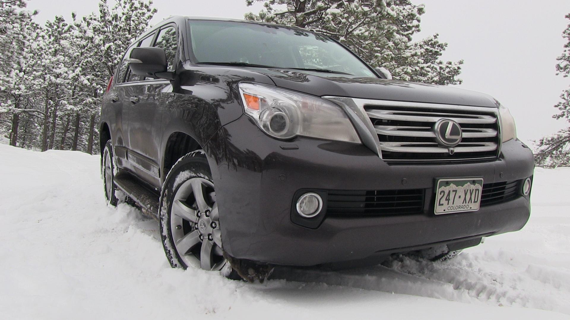 2013 Lexus GX 460 Snowy Colorado f Road 4WD Tech Demo Review