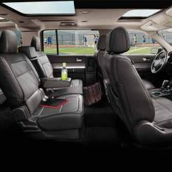 2013 Ford Explorer Captains Chairs 4 Kitchen Flex Awd Simply A Comfortable And Quite People Mover Interior