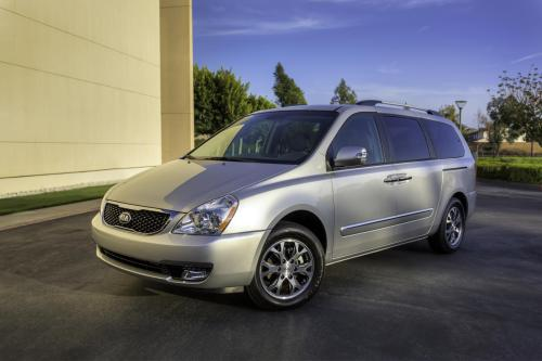small resolution of this is the only photo kia has released of the 2014 kia sedona notice the new nose