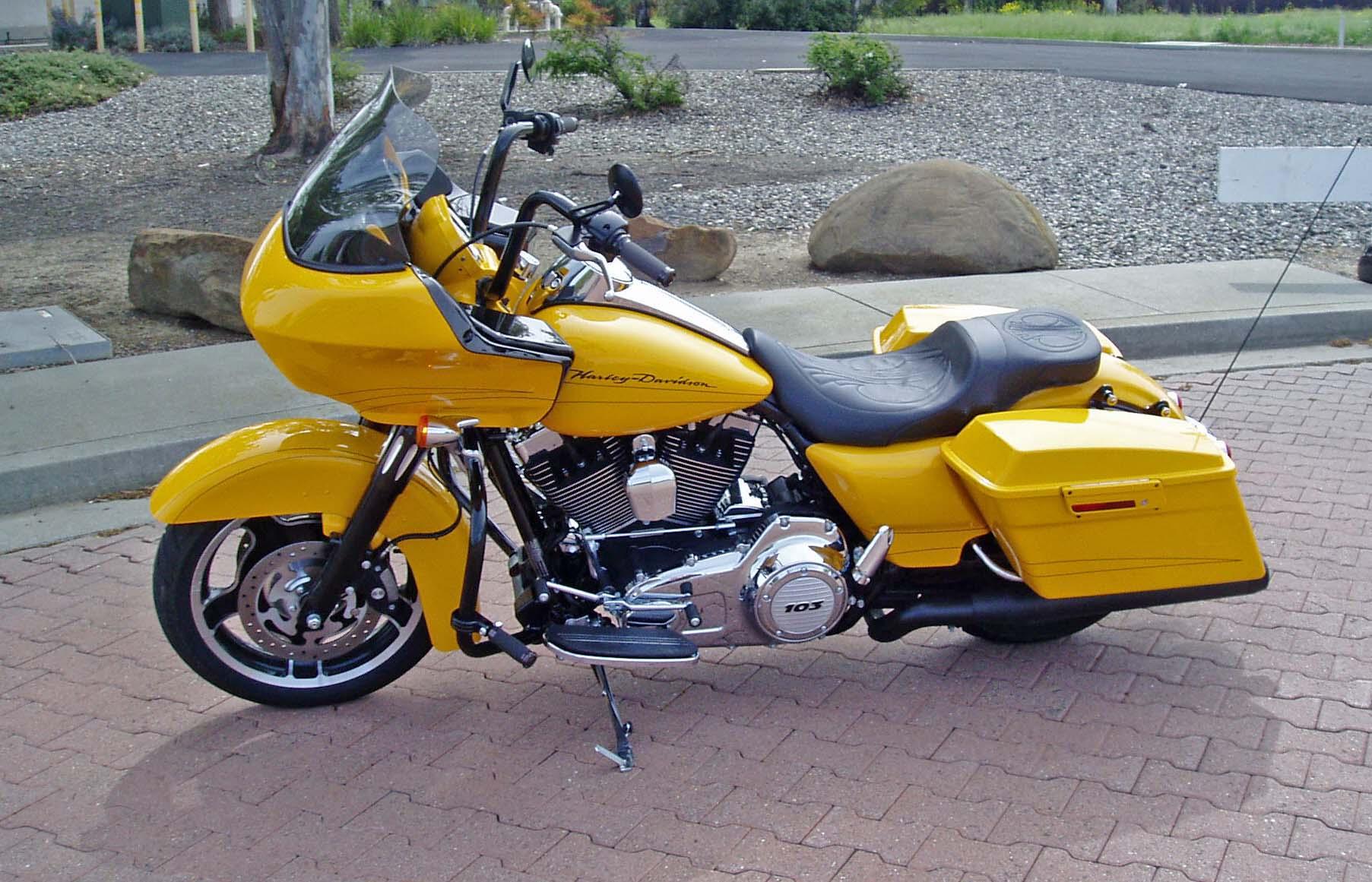 2012 Harley Davidson FLTRX Road Glide Custom Slick Custom Bagger