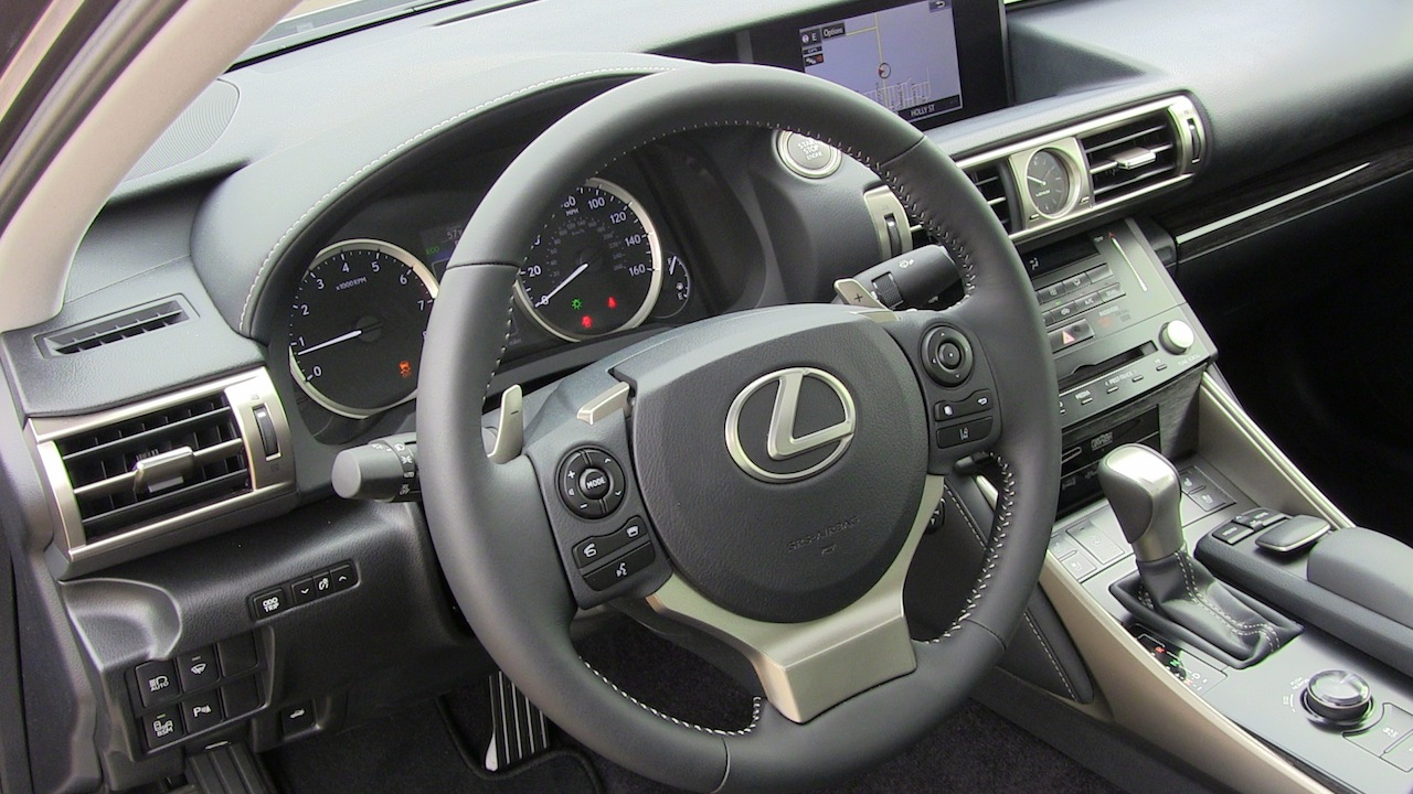 hight resolution of 2014 lexus is 250 awd dash interior