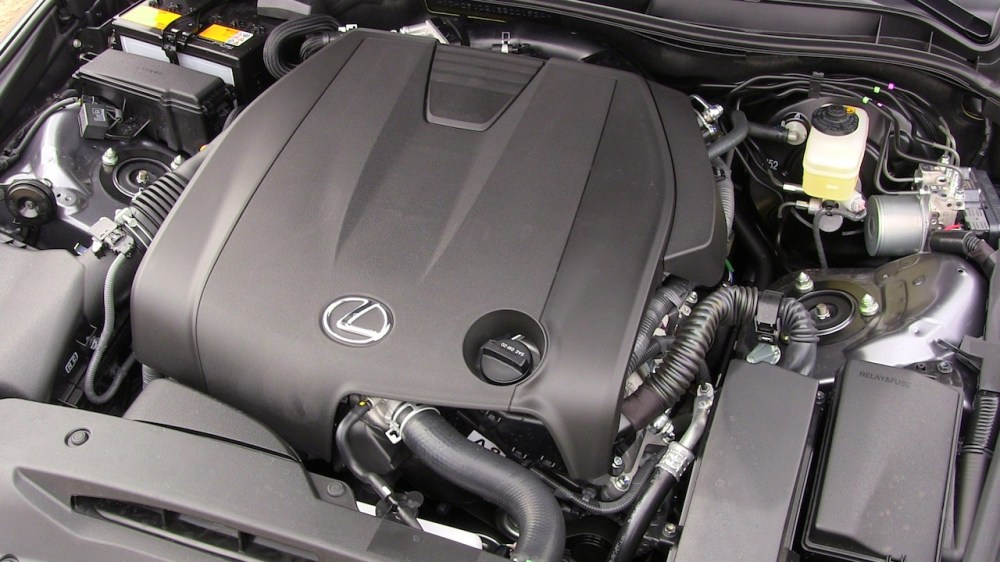 medium resolution of 2014 lexus is 250 v6 engine awd