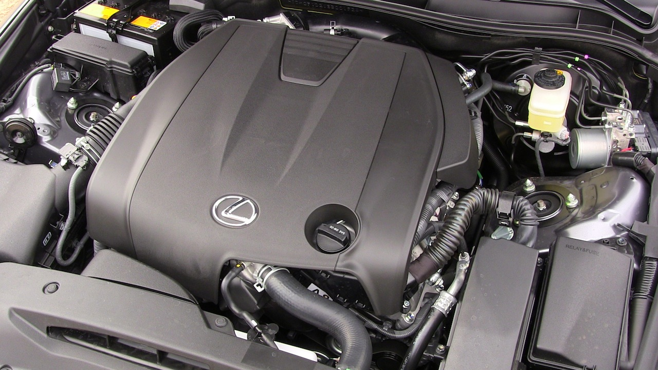 hight resolution of 2014 lexus is 250 v6 engine awd