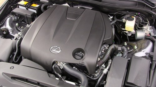 small resolution of 2014 lexus is 250 v6 engine awd