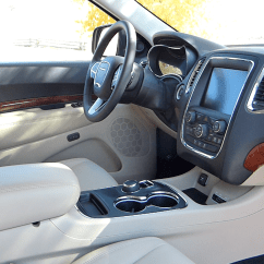 Captain Chairs Suv Blue Chair Slipcovers 2014 Dodge Durango Review