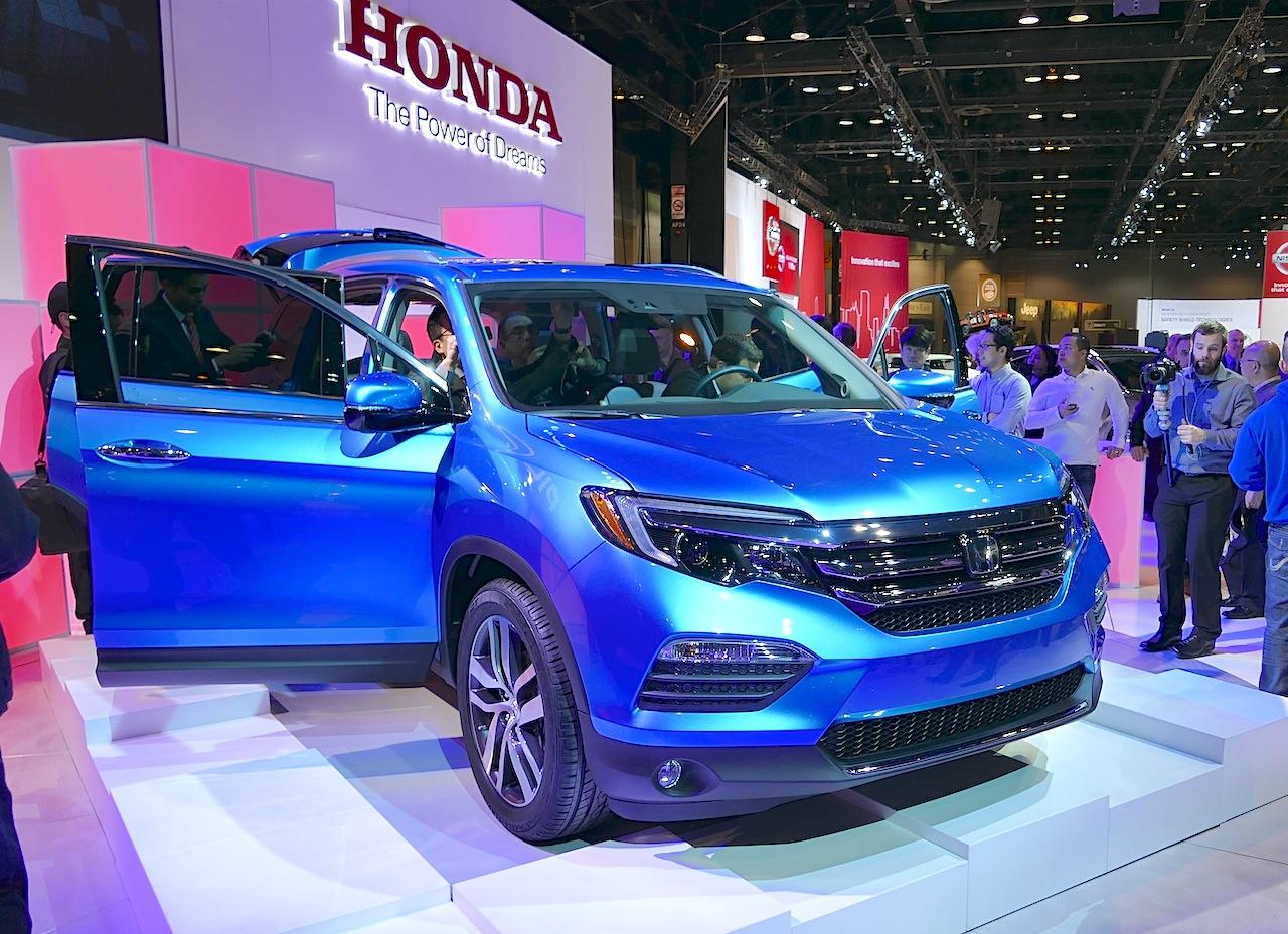 2016 2015 Honda Honda Pilot Vs Pilot