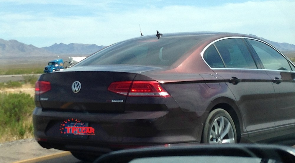 medium resolution of next generation vw passat wagon 4motion tdi hot weather testing spied the fast lane car