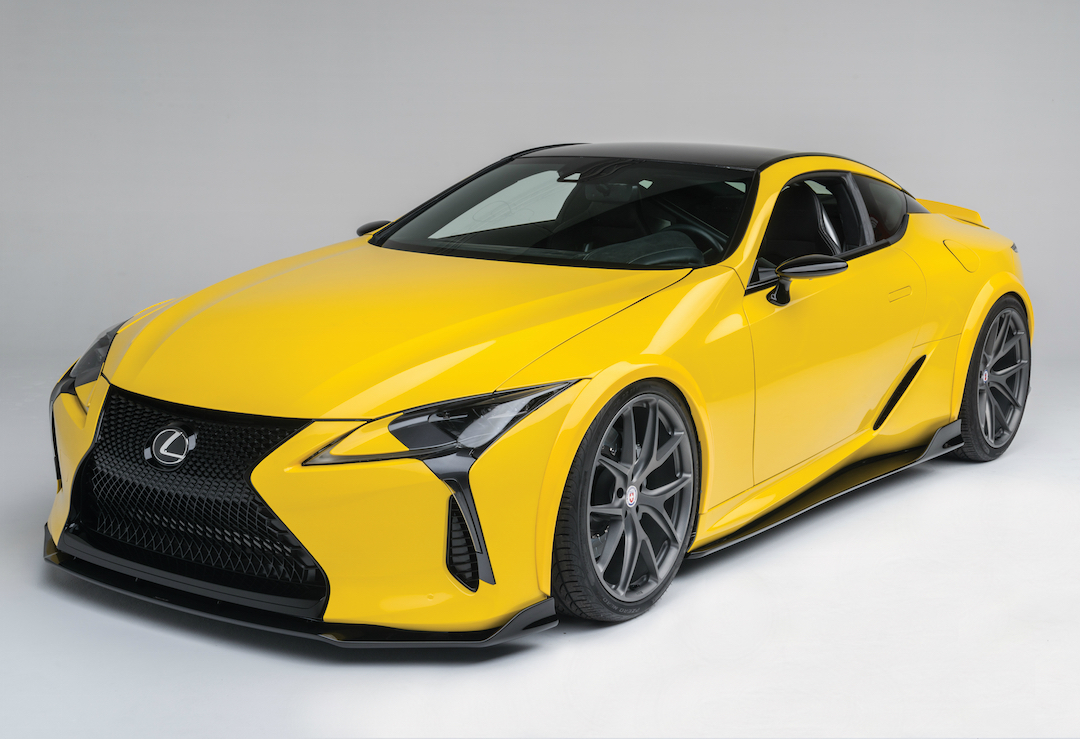 hight resolution of 2016 sema lexus unveils a first of its kind lexus lc 500 news