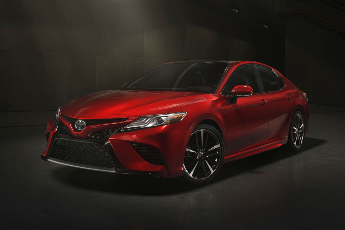 all new camry sport grand avanza silver metallic toyota s not boring and no cvt naias video the 2018 xse 02 although current generation