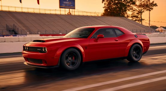 2018 dodge challenger demon leak official debut horsepower specs