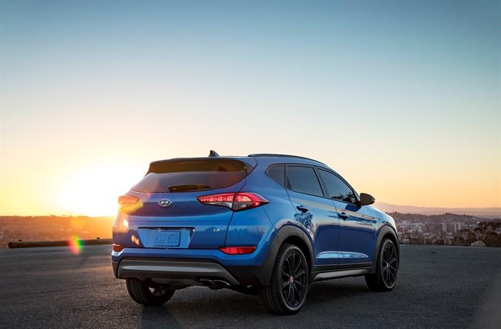 2017 Hyundai Tucson Night A factorymild custom crossover