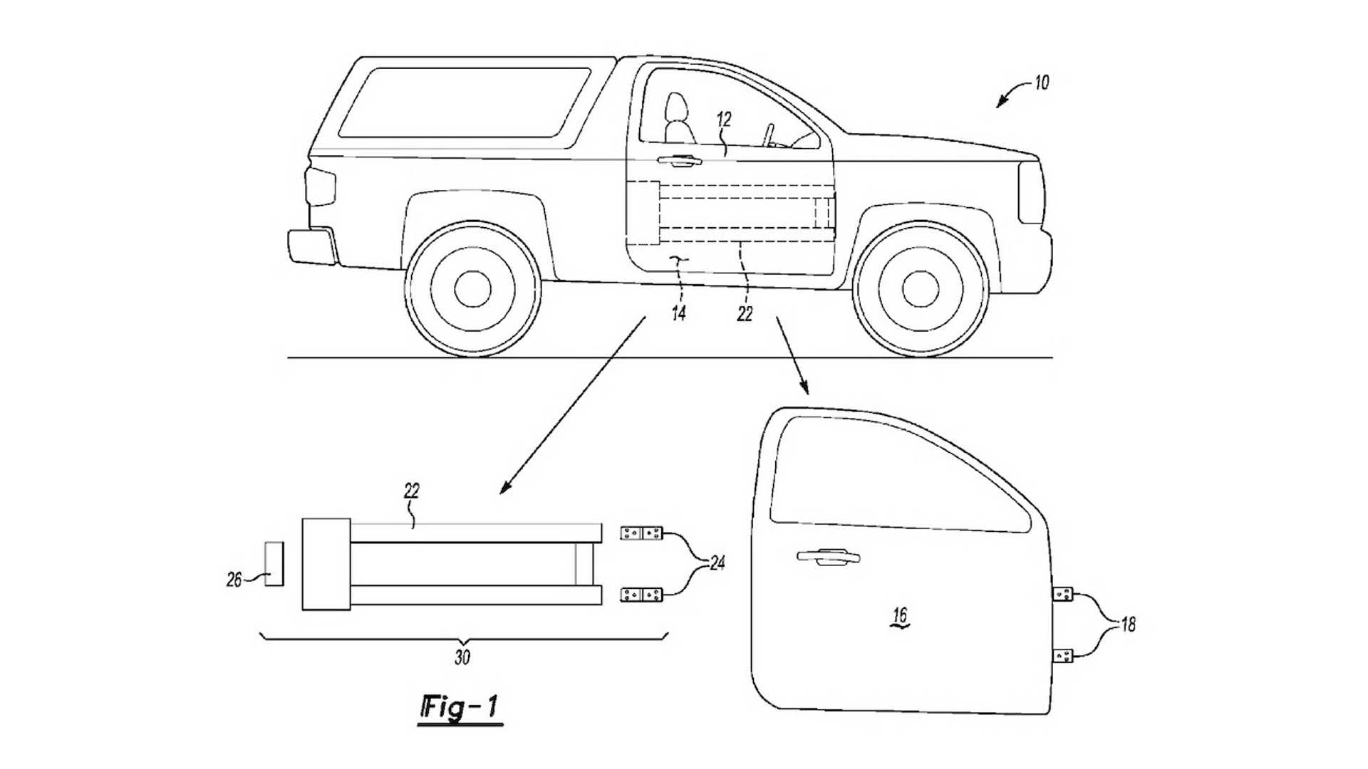 Could Ford Removable Door Patents Point to the New Ford