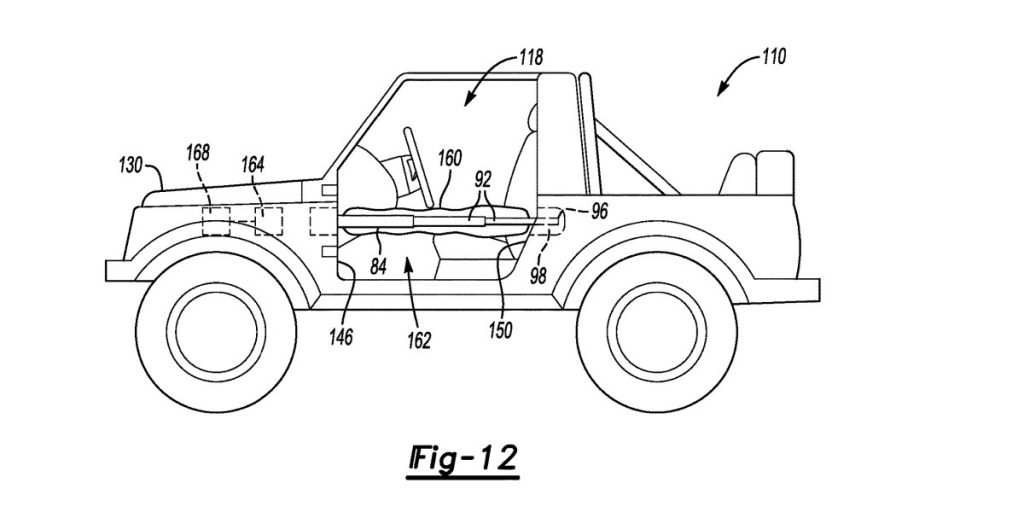 New Patent Drawings Show The 2021 Ford Bronco May Have