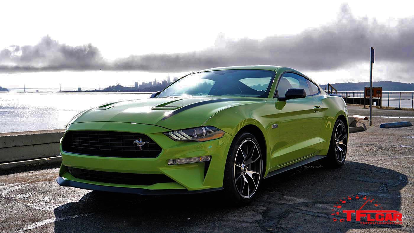 This 2020 Ford Mustang Ecoboost High Performance Package