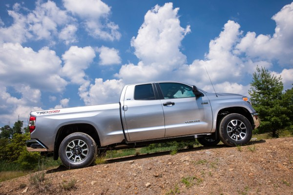 Toyota Tundra Silver Camper - Year of Clean Water