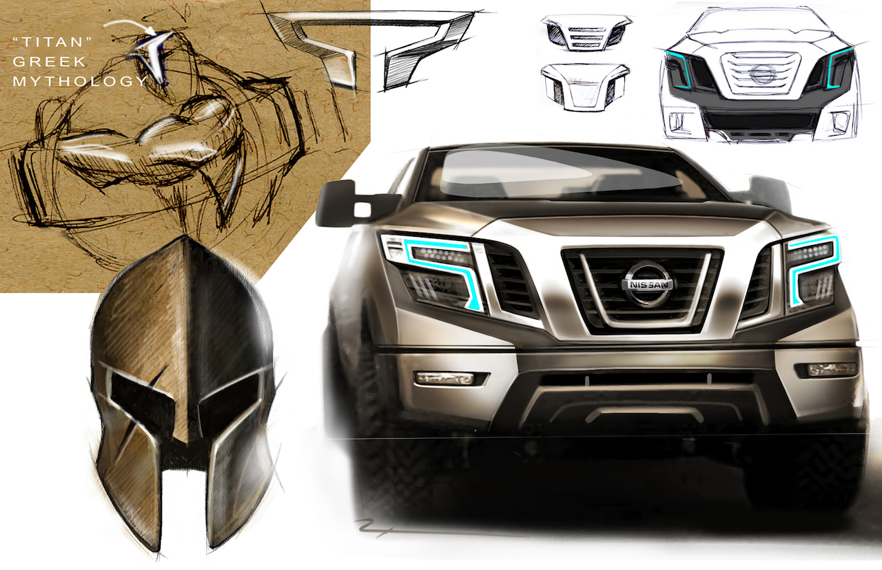 Tesla Logo Wallpaper For Car Design Sketches 2016 Nissan Titan The Fast Lane Truck