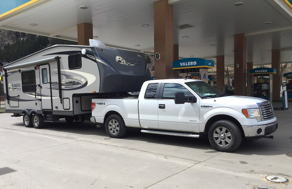 medium resolution of ask tfltruck can i tow a 5th wheel camper with a ford f150 half ton pickup the fast lane truck