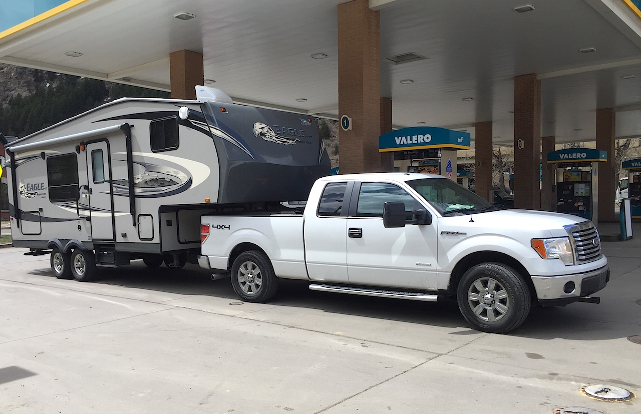 hight resolution of ask tfltruck can i tow a 5th wheel camper with a ford f150 half ton pickup the fast lane truck