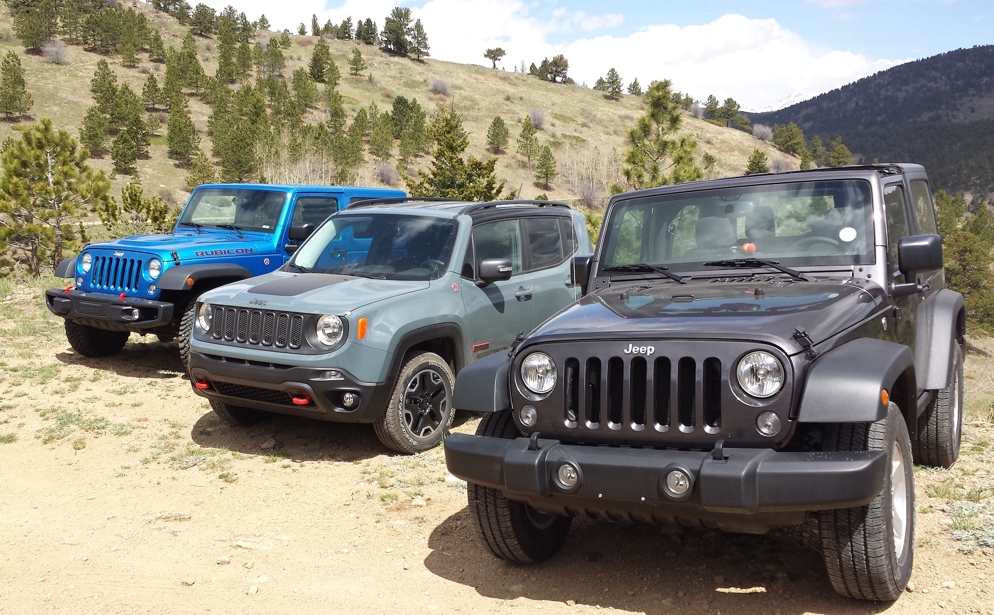 Jeep Renegade Trailhawk versus Wranglers Which e is Just Right