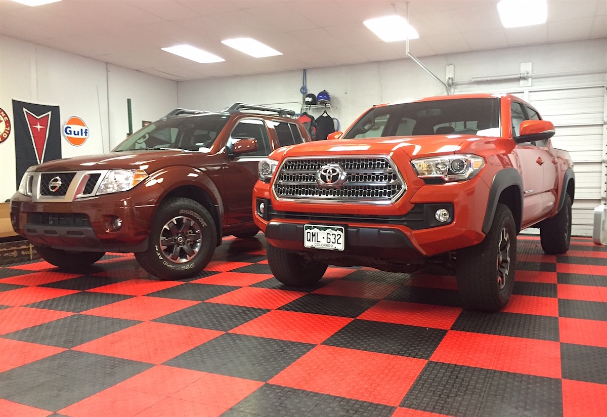2016 Toyota Tacoma Trd Off Road 4x4 Vs Nissan Frontier