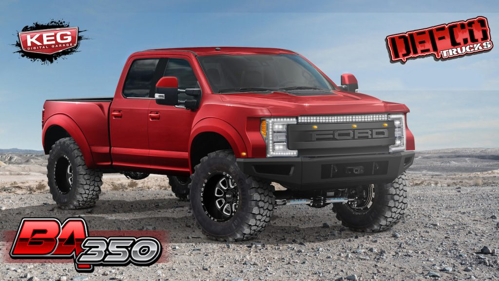 Defco Trucks Ford F350 BA350 Super Duty Raptor And A