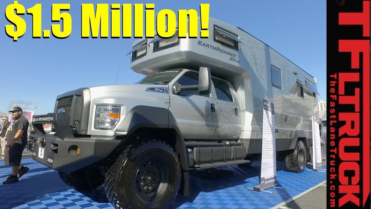Dodge Rv Wiring Check Out The 1 5 Million Earthroamer Xv Hd Ultimate 4x4