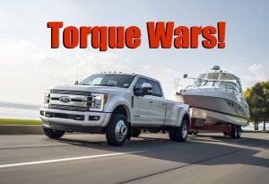 Torque Wars! 2018 Ford Super Duty Comes Out with Most Power, Torque, and Towing (News)  The