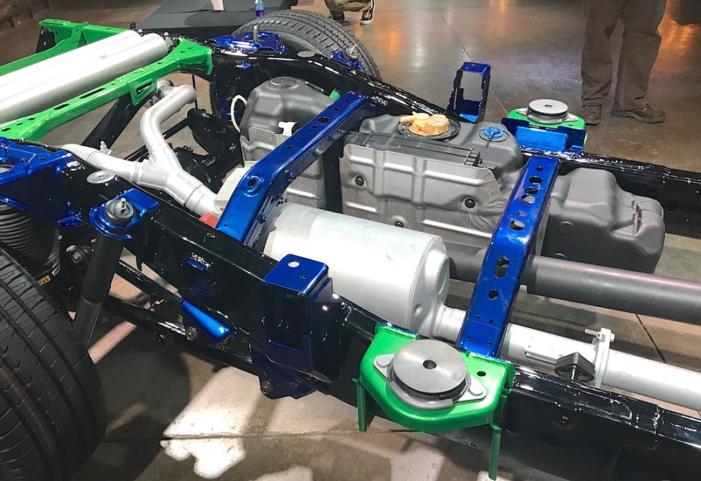 medium resolution of 2019 ram 1500 fuel tank frame cab mounts