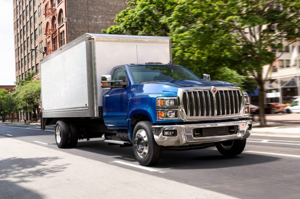 medium resolution of 2019 international cv box truck