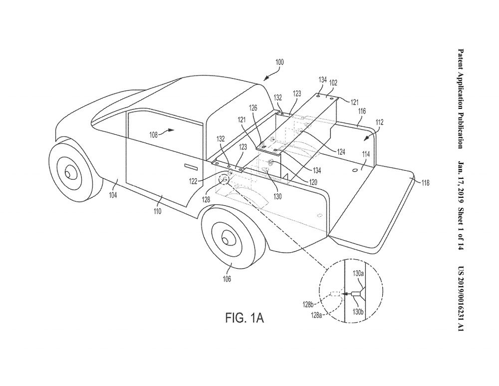 Rivian Patent Application Reveals More Details On A Bed