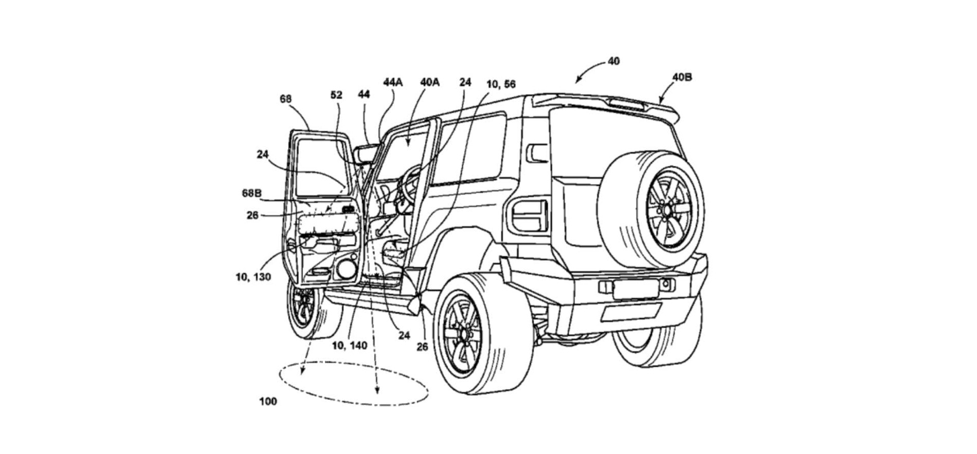 Ford Bronco Patents Thumb